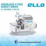 Overlock 4 Fios Direc Drive, 70% De Economia Na Luz