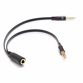 Adaptador Para Fone De Ouvido Com Microfone Integrado