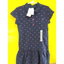 Vestido Azul Niña Carter´s Infantil T-6 Carters Nuevo