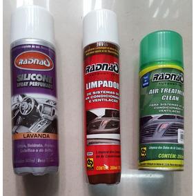 01 Higienizador Clean Granada 01 Spray 01 Silicone Lavanda