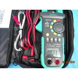35pinza Amperimetrica,kit Full,capacimetro,frecuencimetro,°c