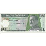 Guatemala Un Quetzal Polímero