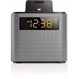 Radio Relógio Philips Ajt3300 Bluetooth Iphone Dock Speaker