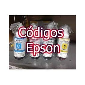 Código Tinta Epson L200 Multifuncional L210 Todos Los Modelo