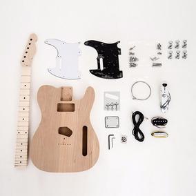 Kit Guitarra Desmontada Telecaster Corpo Em Alder Sku010