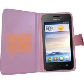 Forro Huawei Y300 Y320 Y321 Y330 Y360 Libreta Estuche Agenda