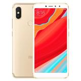 Novo Smartphone Xiaomi Redmi S2 3gb Ram 32gb Rom Gold + Capa