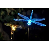 Figuras X 4: Colibrí Mariposa Libélula A Energía Solar