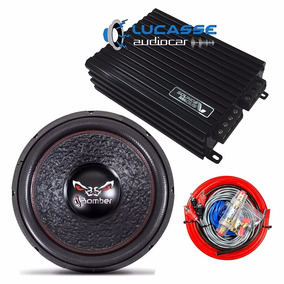 Combo Sound Magus Dk 600 Rms + Woofer 15 Bomber Bicho Papao