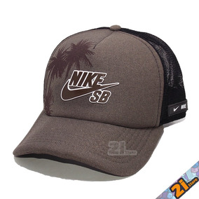 Boné Nike Trucker Telinha Masculino Aba Curva Snapback Preto 5b732db5483