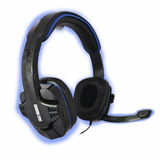 Audifonos Gamer Diadema Pc Microfono Eagle Warrior Hs-501 Az