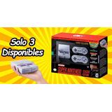 Nintendo Snes Mini Edición Clásica / Aparta Tu Consola ¡ya!