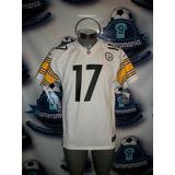 Jersey Original Nike Nfl Youth Acereros Steelers Blanco