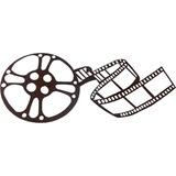 Quadro Decorativo Motivo Cinema Rolo De Filme