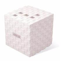 Caixa De Som Speaker C/ Bluetooth Music Box Branco Sk401 Oex
