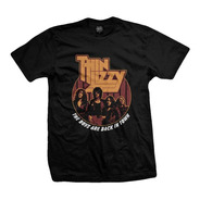 Remera Thin Lizzy Back In Town