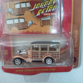 Johnny Lightning 31 Ford Woody Retro