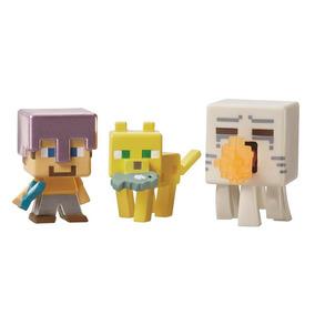 Minecraft Mini Figuras Pack De 3