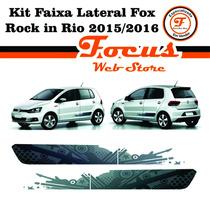 Kit Faixa Lateral Fox Rock In Rio 2015 2016 Jogo