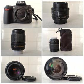 Kit Fotográfico: Nikon D90 + Lentes Nikon + Flash Sb700