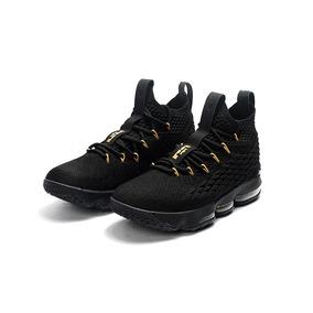Tênis Nike Lebron James 15 Black Lançamento 2017 2018 Novo