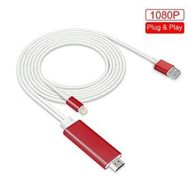 Pinple Lightning Cable De 8 Pines A Hdmi No Necesita La Nece