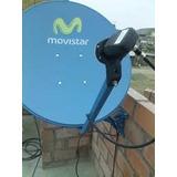 Venta- Instalación Antena Parabolica Satelital Movistar