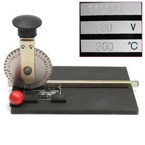 Manual Impresora Máquina De Grabación En Relieve Troquelados