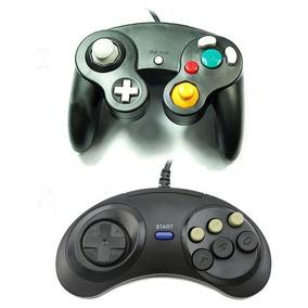 Kit Controles Game Cube E Mega Drive-genesis