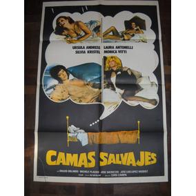Afiche Cine Camas Salvajes Ursula Andres Monica Vitti Kryste