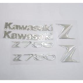 Kit Kawasaki Z 750 Adesivos Resinados Full Tanque Carenagem