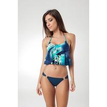 Biquini Modelos Cropped Sainha Sem Bojo Moda Praia Promoção