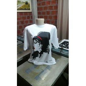 Camiseta Ou Baby Look Amy Winehouse Vários Tamanhos E Cores