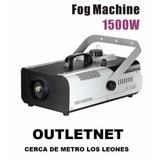 Maquina Humo 1500w Control Remoto Inalambrico Outletnet