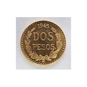 Dos Pesos Oro Familia Centenario Moneda Goldmex Inversion