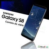 Cambio De Vidrio Astillado De Pantalla Samsung Galaxy S8