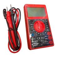 Multímetro Tester Digital Zr161 Buzzer Display Grande Zurich