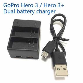 Carregador Gopro Gopro Duplo P/ Bateria Hero 3 E 3+ Original