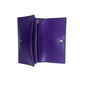 Monedero Ralph Lauren Para Damas Color Púrpura