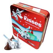 Estuche Hersheys Kisses Navidad Milk Chocolate Lata X150gr