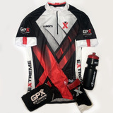 Kit Extreme - Camisa De Ciclismo Woom, Meia, Squeeze E Bag