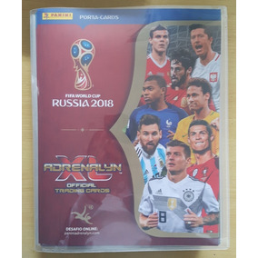 Cards Adrenalyn Copa Do Mundo 2018 -574 Cards Completo Pasta
