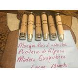 Goya Mangos Para Cuchillo Guayubira Con Virolas De Alpaca