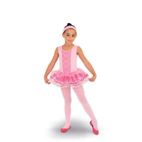 Fantasia Bailarina Infantil - Pronta Entrega