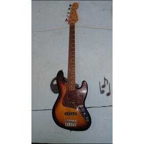 Bajo Eléctrico Jazz Bass 5 Cuerdas Made In Mexico