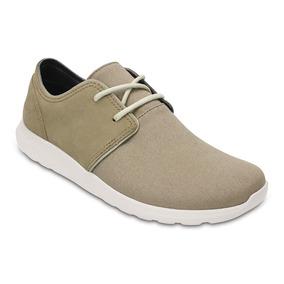 Crocs Kinsale 2-eye Shoe Khaki/stucco
