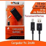 Cargador Only Turbo Tipo Micro Usb