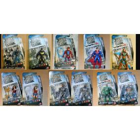 Figuras Justice League 2017 Mattel Batman, Flash, Aquaman