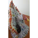 Figura Ganzo Origami 3d Artesania Manualidades