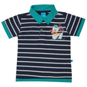 cab255663b Camisa Polo Bito Primeiros Passos Em Meia Malha Alto Verão L